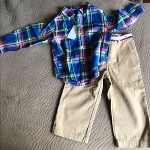 Baby Boys 18 Month Ralph Lauren Set NWT